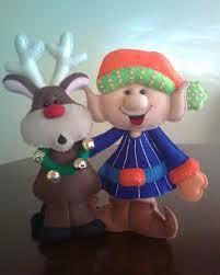 elf + reindeer