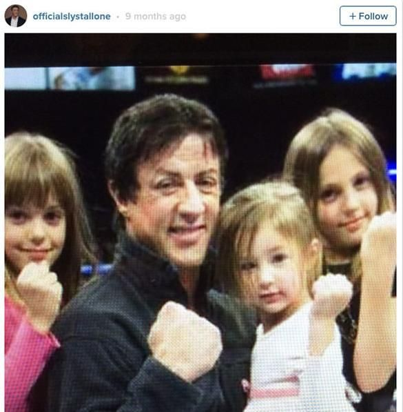 Sylvester Stallone's Daughters Are All Grown Up And Look Stunning