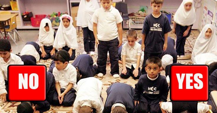 POLL: Should We BAN Islam In American Public Schools? [VIDEO]