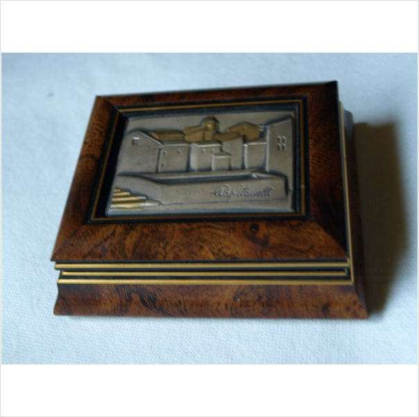 ITALIAN JEWELLERY BOX. SILVER PLAQUE on eBid United Kingdom