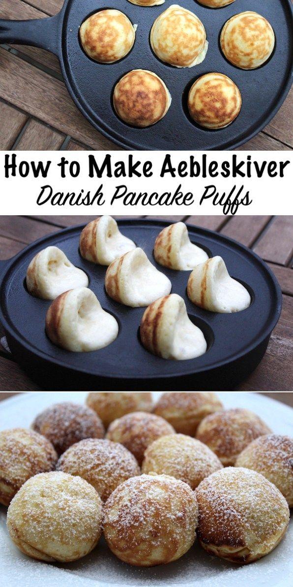 Danish Aebleskiver Recipe Aebleskiver Recipe Food Recipes Ebelskiver Recipe