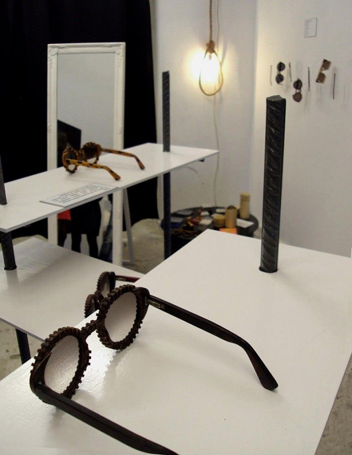 Wooden Sunglasses Project Space