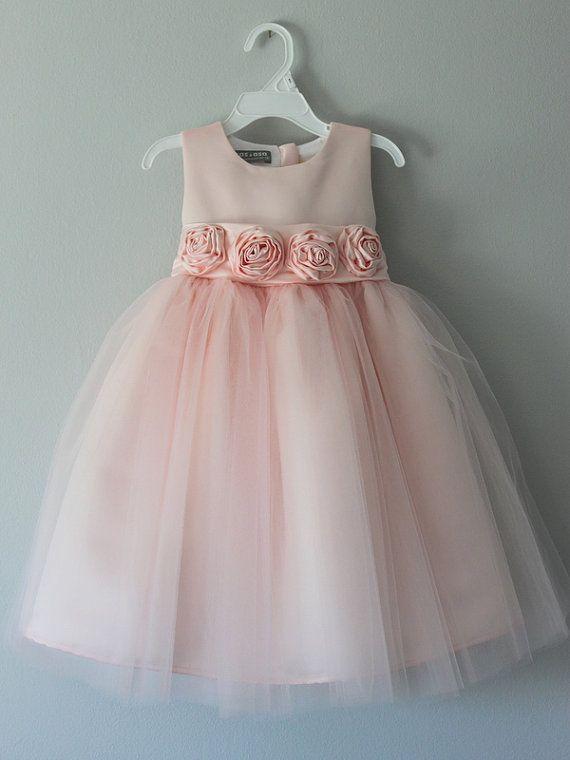 Il vestito di Alice: Vestito ragazza di fiore fatto a mano