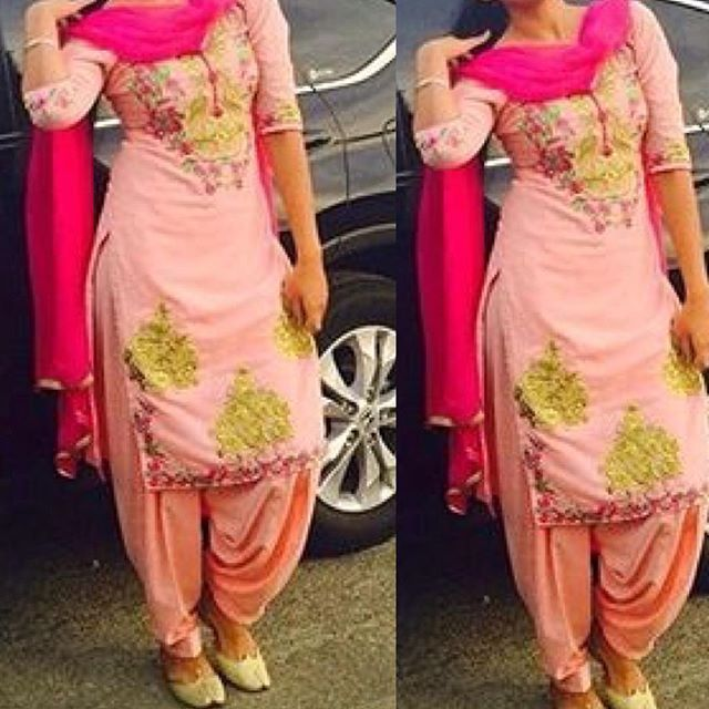 Get this beautiful salwar suit made @nivetas Inquires…