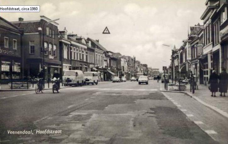 Veenendaal, Hoofdstraat circa 1960
