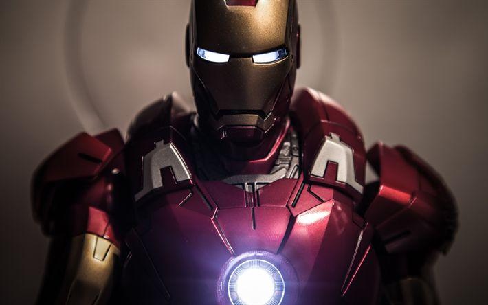 Download wallpapers 4k, Iron Man, robot, superheros, IronMan