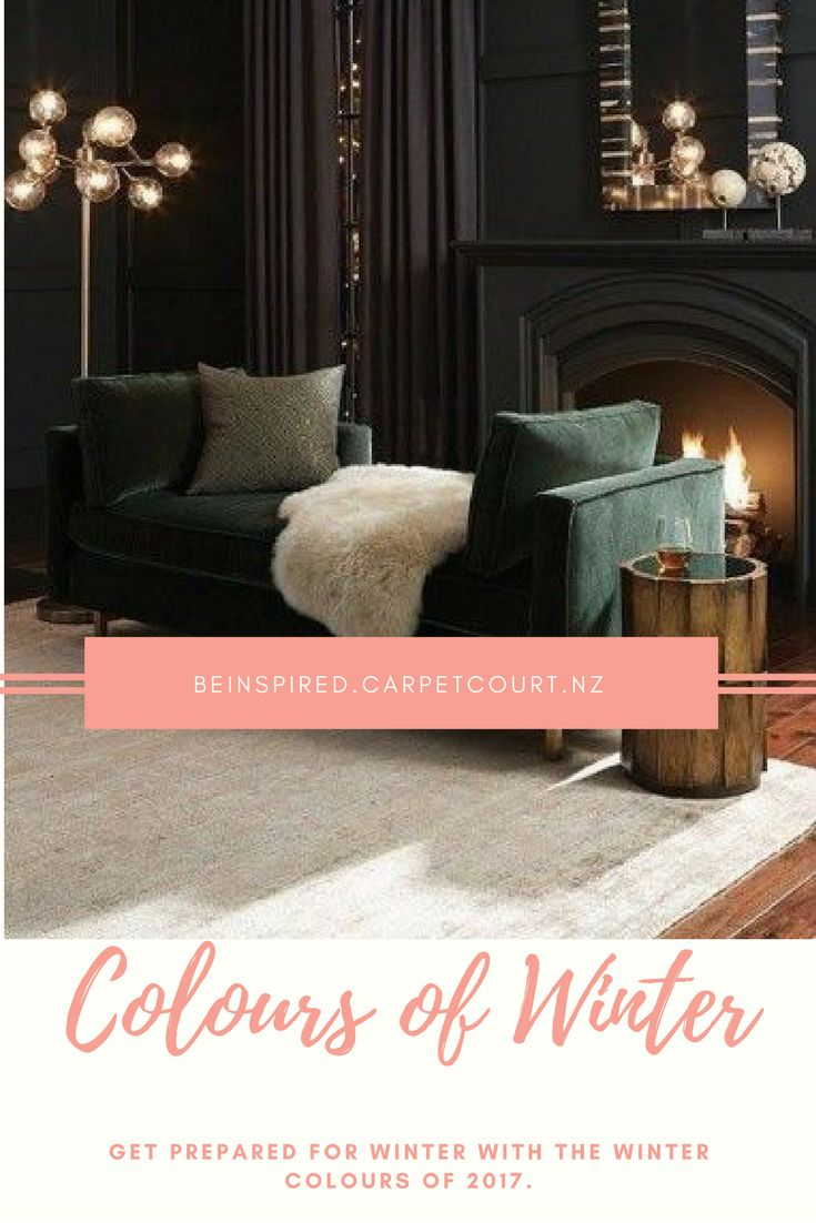Find out the colours of Winter 2017.