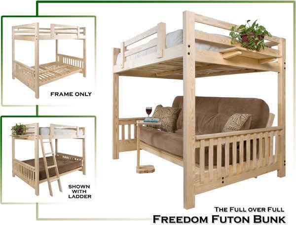Full Over Futon Futon Bunk Wow Bunk Bed Designs Bunk Beds Futon Bunk Bed