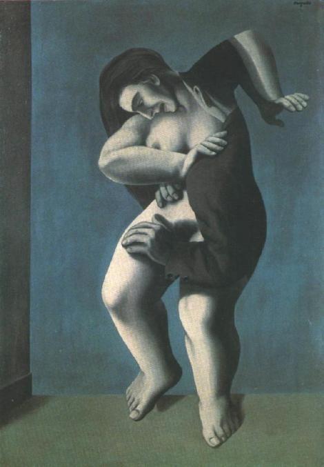 René Magritte, Les Jours gigantesques (The Titanic Days) on ArtStack #rene-magritte #art