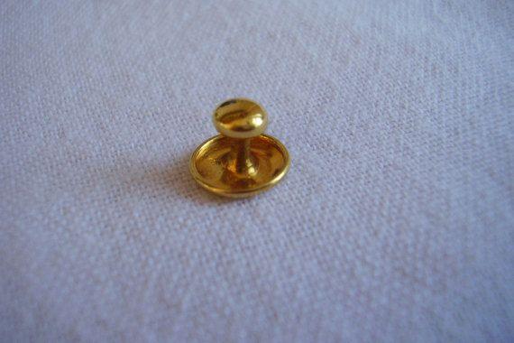 9 carat Gold Collar Stud Victorian Edwardian by Vintage0Sparklers