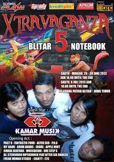 EVENT : XTRAVAGANZA 5 #BLITAR – Jawa Timur