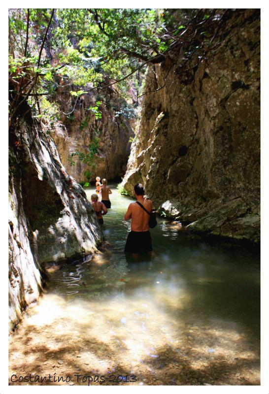 Waterfalls Potami, Samos, Greece Copyright: Costantino Topas
