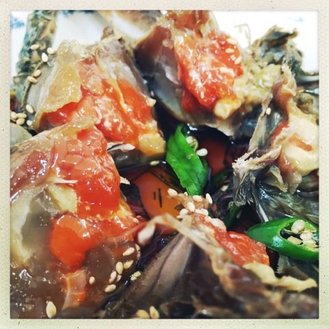 Raw Soy Crab 간장게장 in Pyeongtaek South Korea