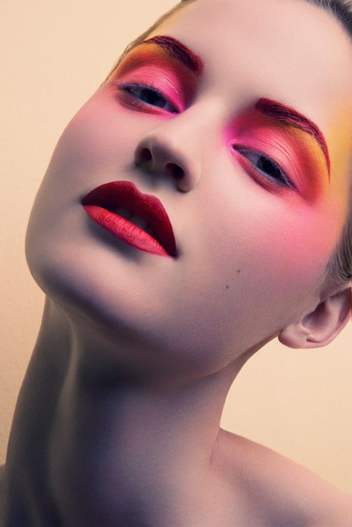 This makeup, it will be in a shoo one day!