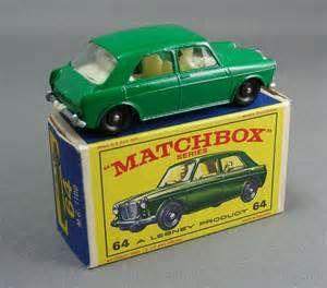 Vintage Matchbox Cars and Trucks