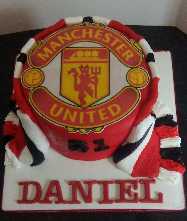 Amazon Manchester United Cake Topper