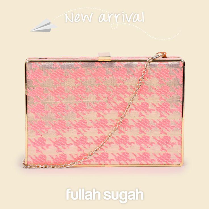 New Arrival  Fullah Sugah Pied de coq αμπιγιέ φάκελος | 1437102551 #sales #trends #fashion #style #bags #fullah_sugah