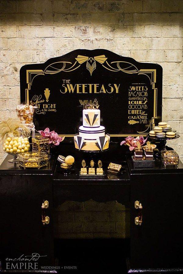 The Great Gatsby wedding theme