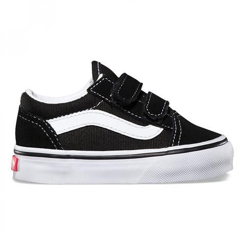 Vans - Toddler black Old-Skool V shoes