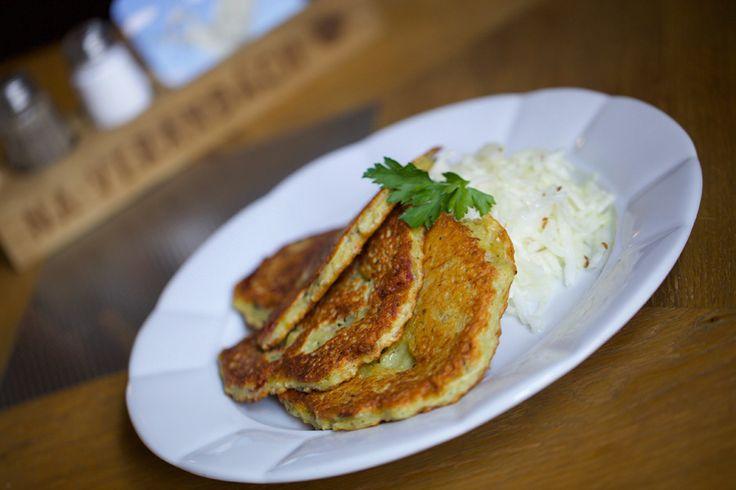 New menu Homemade potato pancake