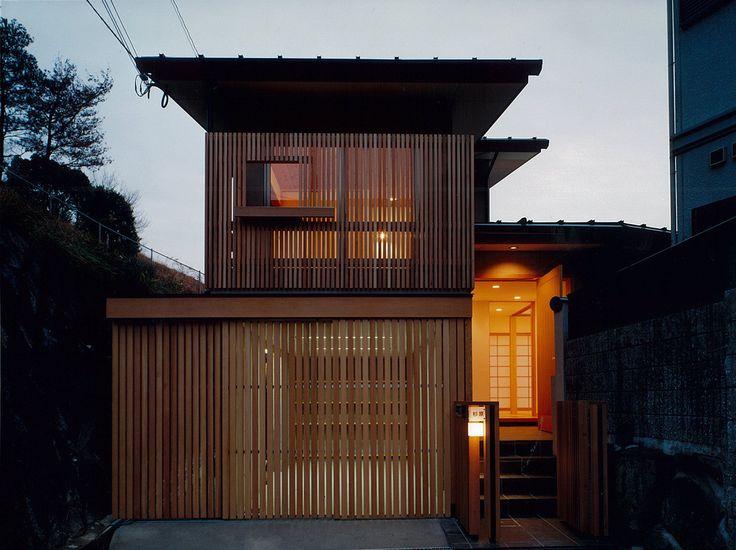 堀内総合計画事務所 の オリジナルな 家 道路側外観