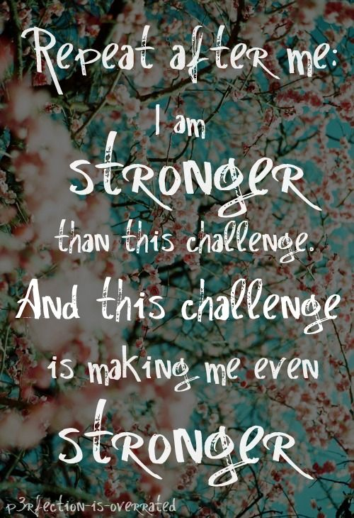 I am strong
