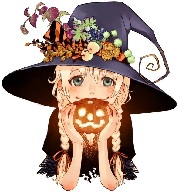 cute halloween witch - Cute Halloween Witches