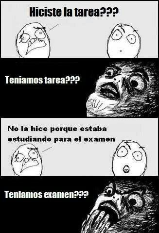 #meme #tarea #examen omg!! Haha