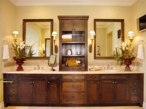 : Double Vanities, Masterbath, Bath Vanities, Bathroom Remodel, Bathroom Ideas, Bath Ideas, Bathroom Cabinets, Shelves Ideas, Master Bathroom