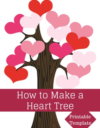 Classroom Door Valentine Heart Tree