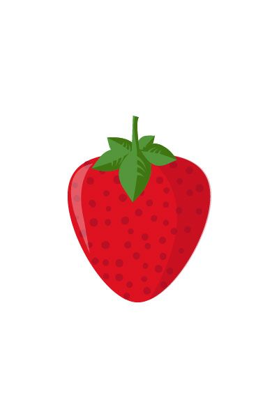 Strawberry Vector #strawberry #vector #fruits #handdrawvector http://www.vectorvice.com/fruits-vector