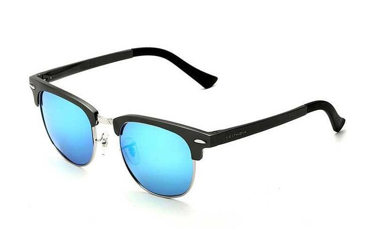 Sunglasses : Veithdia Unisex Aluminum Magnesium HD Polarized