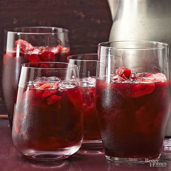 Any season is sangria season with this winter sangria recipe using red wine and cranberries for a delicious flavor and color. This easy winter drink is sure to be a crowd pleaser!