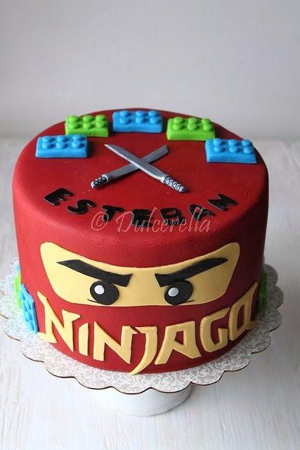 Hiasan Kue Ulang Tahun Anak Super Hero Ninjago