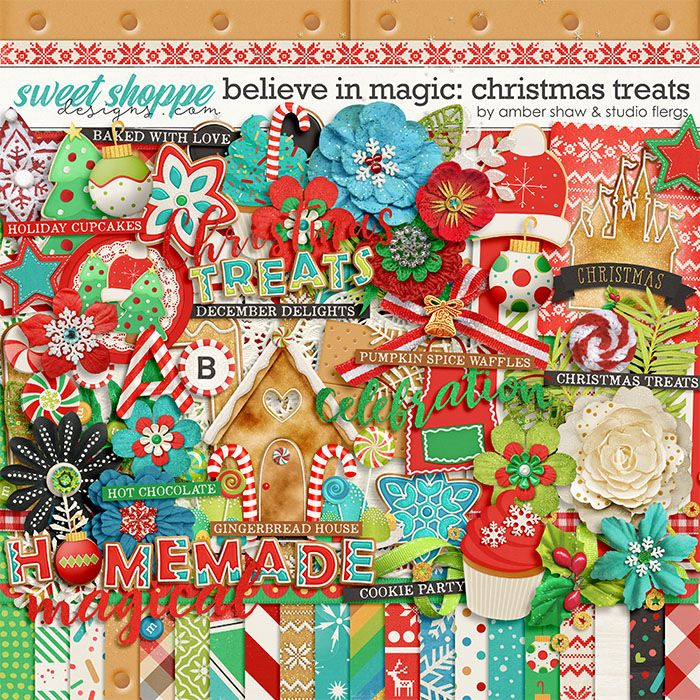 Believe in Magic: Christmas Treats by Amber Shaw & Studio Flergs
