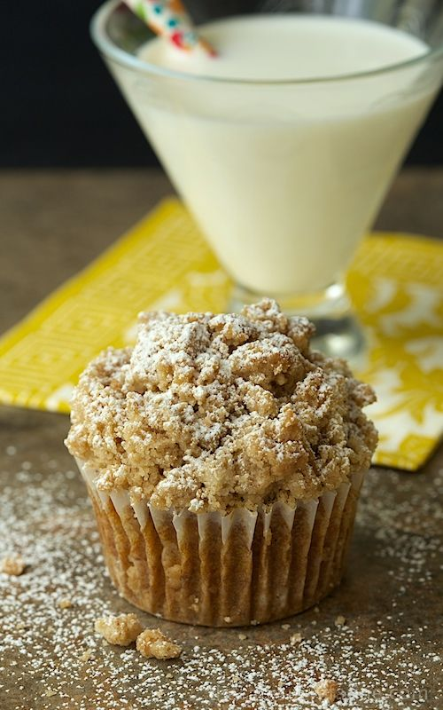 Pumpkin Crumb Muffins - These pumpkin muffins are super moist and full of delicious warm-spiced flavor. The buttery, crumb topping is the crème de la crème!