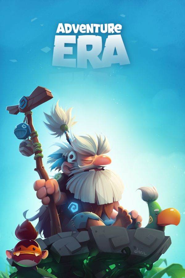 Adventure era #4 on Behance, great accuracy with the shading! looks like a stylized 3d rendering!