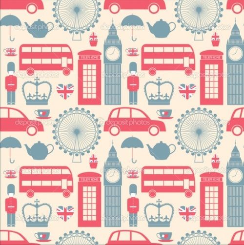 London print fabric for lampshade?
