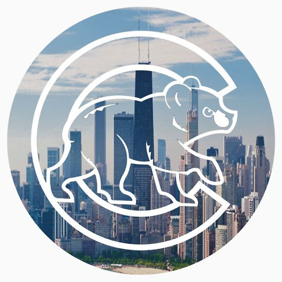 Chicago+Cubs+Skyline+Logo