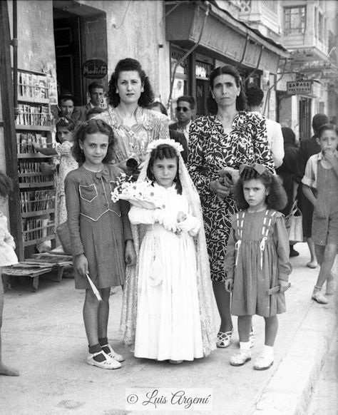 Barrio del Carmen, años 40. Murcia © Luis Argemí