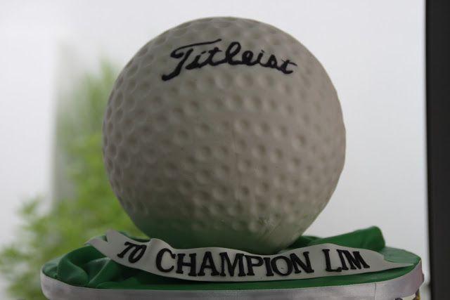 1000 Ideas About Golf Ball Cake On Pinterest Golf Cakes