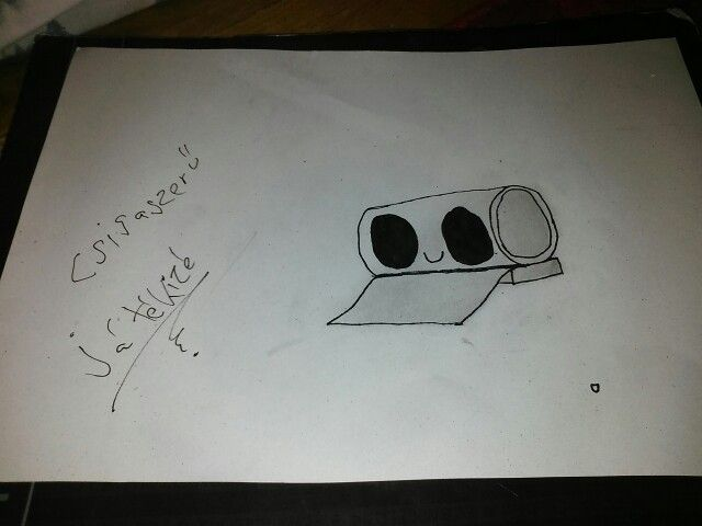 I'm bored on the art class so... Yeah... I drawed the Csigaszerű Játékizé By : Me (Please don't repin)