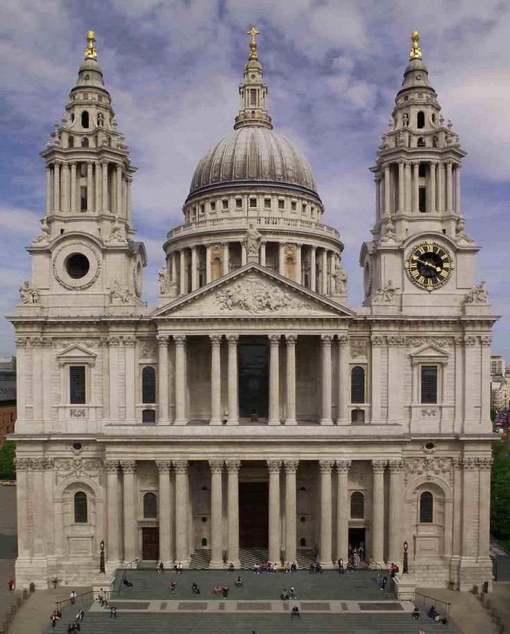 English Baroque, Christopher Wren, St. Paul'sCathedral, London