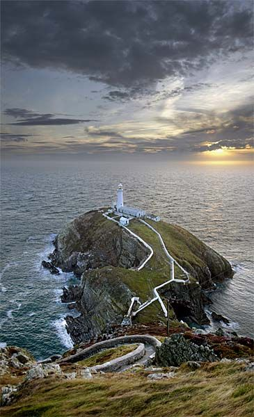 South Stack, Anglesey, North Wales - great place to visit when I was at  university in Bangor
