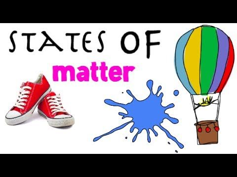 States of matter: Solids, Liquids and Gases : funza Academy Science Videos for kids - YouTube