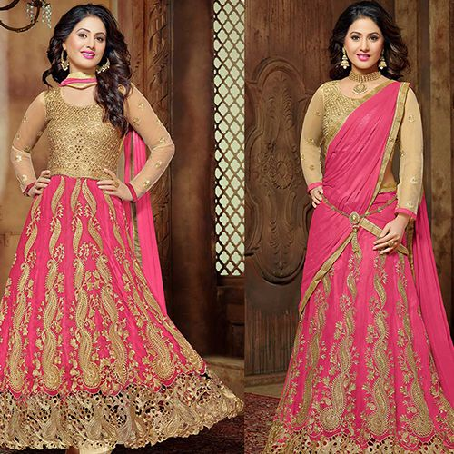 Wearing a well-designed Bridal Lehenga is a dream for all brides. This ensures that you look traditional yet smart. The fact that the designers are known to experiment a lot with this costume ensures that the end product is elegant and loved by all. The brides are known to simply admire the outfit. The fact that it is unlike a saree can be transformed and designed in various ways and cuts give them a fun twist.
