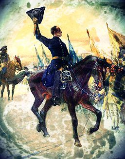 Charles XII hailed after successful victory