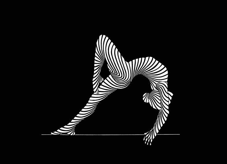 Rhythmic Gymnastics Illustration on Behance
