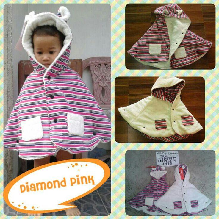 #BabyCape #JaketSelimut #DiamondPink BBM:52057899
