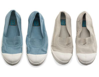 Bensimon - Elastique tennis flats (Parisian style) | Available in several colors from Yoox - http://yoox.com/us/women/shoponline/bensimon_md?gclid=ckjnru_a4lucfap_qgod-nsasq=41086